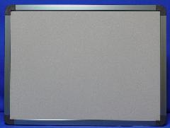 R型屋内掲示板(グレー枠)    本体サイズH600×W900   (ピン・マグネット併用)
