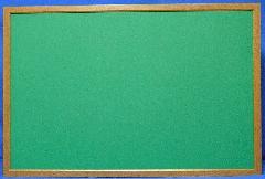 木目枠掲示板           本体サイズH600×W900    (ピン・マグネット併用)