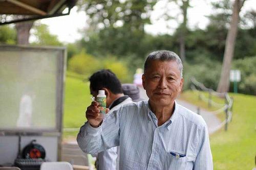 2011年10月2日錦友会100周年記念大会(浜松フラワーパーク)にて