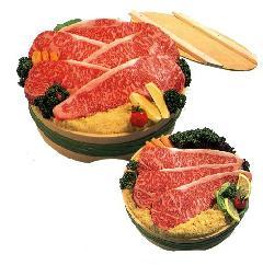 熊野牛・ 梅味味噌ロース肉