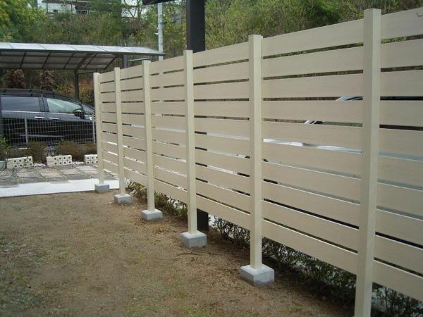 柵のフェンス工事
