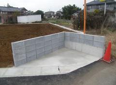 古河市 土間コンクリート打設工事