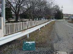 外周フェンスの塗装