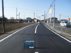 茨城県 駒羽根道路の舗装工事�@