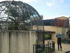 京都市動物園旧鳥類舎解体工事