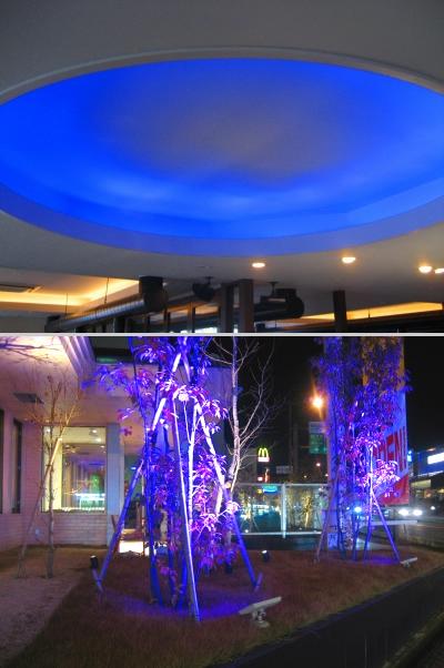 LED演出照明工事