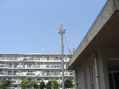 高浜第三市営団地様 屋外非常放送設備工事