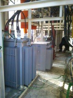 変電設備トランス交換工事