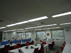 神奈川・川崎 オフィスビル様 LED化工事