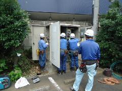 神奈川県・湘南台 飲食店様 キュービクル交換工事