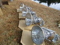 千葉 ゴルフ場様 ナイター照明LED化工事