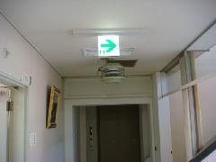 千葉 医療施設様 誘導灯交換工事