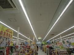 いすみ市 某ドラッグストア様 LED工事