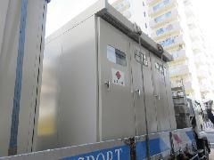 墨田区 高架下案件 キュービクル設置工事