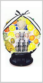 果物・ビール盛