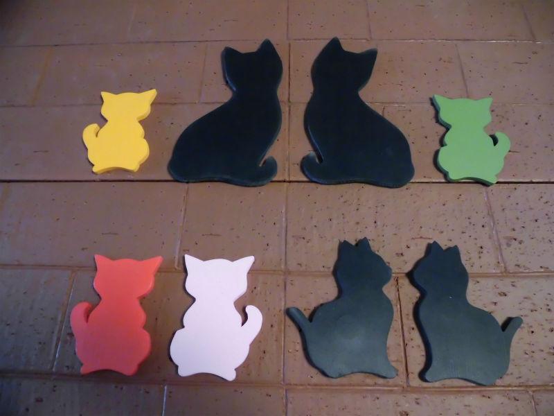 ウレタン・ウレタイル猫タイプ02