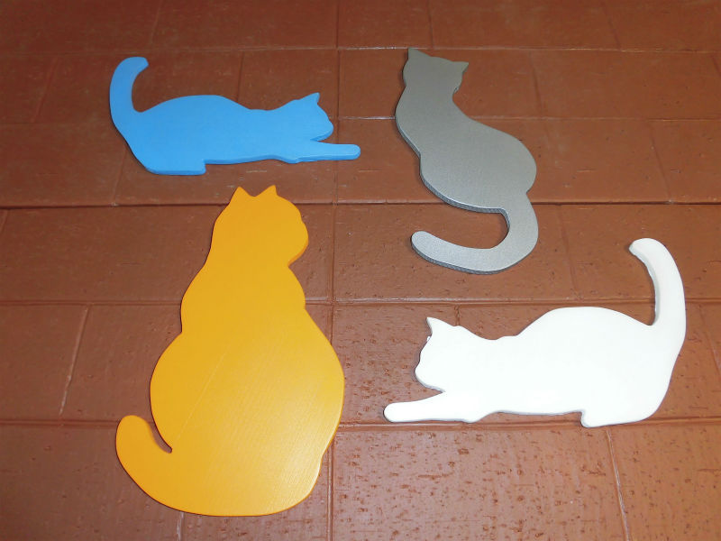ウレタン・ウレタイル猫タイプ04