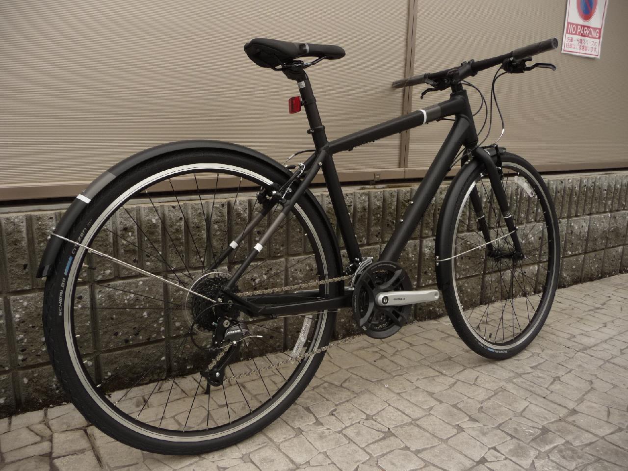 SPEED 40 【MATT BLACK】特価クロス ... : スコット 自転車 クロス : 自転車の