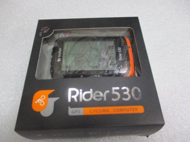 bryton Rider 530T トリプルKIT/ブライトン ライダー 530T トリプルキット スピードセンサー&ケイデンスセンサー&ハートレートセンサー付セット  入荷中!お取り寄せにて特価中!
