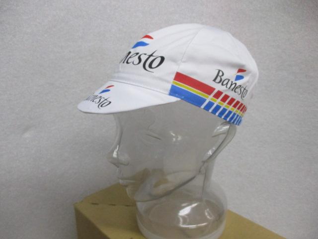 apis BANESTO CYCLING CAP/アピス プロチームレプリカ コットンサイクリングキャップ 【バネスト】PINARELLO インデュライン 即納在庫あり!