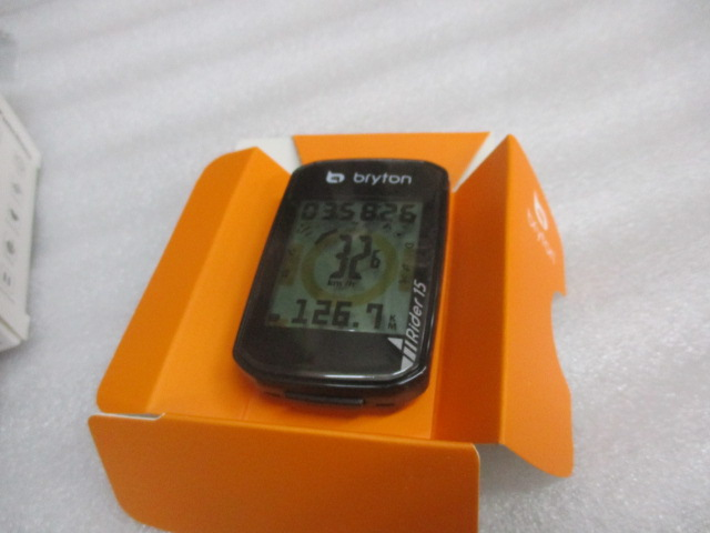 bryton Rider15 C/ブライトン ライダー15 C ケイデンスセンサーキット付 【ブラック】カラー 特価販売中! 即納在庫あり!