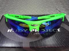 限定 RUDY PROJECT NOYZ  GREEN FLUO/MULTI LS BLUE