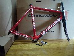 2010 CANNONDALE SUPER SIX HI-MOD CARBON Frame SET (RED) カラー/キャノンデール スーパーシックス ハイモッド フレームセット