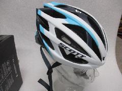 SCOTT WIT- R white/blue matt/スコット WIT−R 【ホワイト&ブルー:マット】 Mサイズ 即納在庫あり
