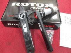 2017 ROTOR NEW 3D+ CRANKS/2017モデル ローター NEW 3D+ クランク 【30mmシャフト PCD110】特価で入荷中!
