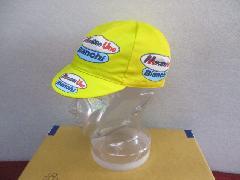 apis MERCATONE UNO CYCLING CAP/アピス プロチームレプリカ コットンサイクリングキャップ 【メルカトーネ ウノ】BIANCHI !