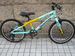 2018 BIANCHI PIRATA 20inc 【CK16/Yellow 】/2018モデル ビアンキ ピラタ 20インチ 子供用自転車 ジュニアMTBバイク【CK16チェレステ/イエロー】特価販売中! 即納在庫あり