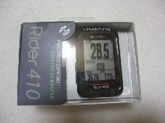 bryton Rider 410C (GPS)ケイデンスKIT/ブライトン ライダー 410 C 本体(GPS)+ケイデンスセンサーセンサー付セット  入荷中! 即納在庫あり