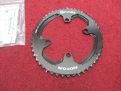 ROTOR Q-RINGS OUTER for SHIMANO 4ARM PCD 110/ローター Qリングス シマノ 新型9100〜8000 PCD110 4アーム対応 アウターギア 50T 特価中!