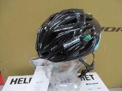 BIANCHI HELMET SHABLI 【BK/CK16】/ビアンキ ヘルメット SH+ シャブリ ロード向き ヘルメット 【グロスブラック/CK16チェレステ】特価販売中! 即納在庫あり!