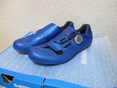 SHIMANO RC5 SH-RC500/シマノ RC-5 SH-RC500  SPD-SL シューズ 限定カラー【ブルー】特価販売中! 各サイズ即納在庫あり!