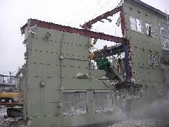 神奈川県 海老名サービスセンター解体工事