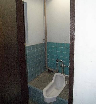 改装前 和式トイレ