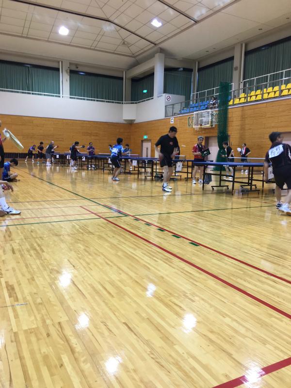 久我山の卓球大会