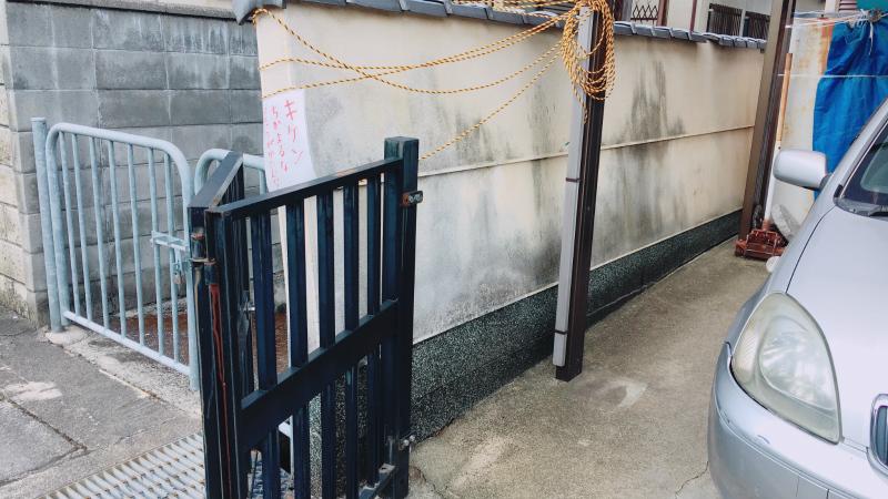 ブロック塀の解体・撤去工事承ります。