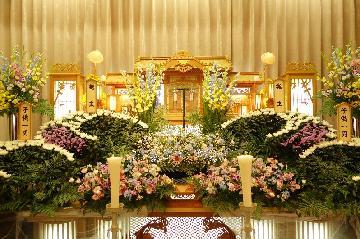 小ホール花祭壇