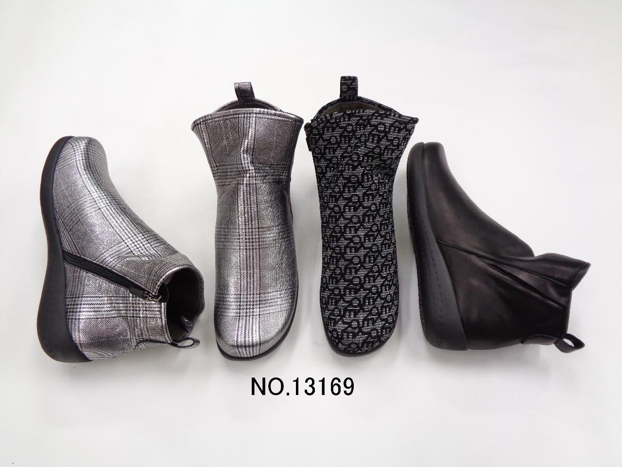No.13169 モードな装いのスタイリッシュブーツ
