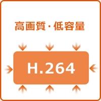 H.264動画圧縮方式