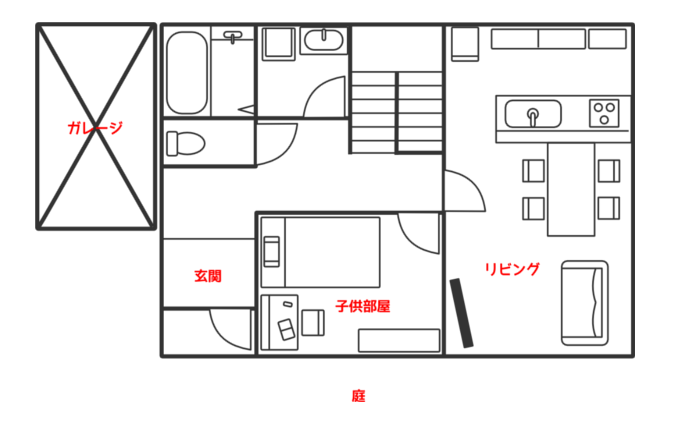住居(一戸建て)イメージ