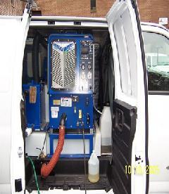 新システム!高温高圧・超吸水洗浄システム