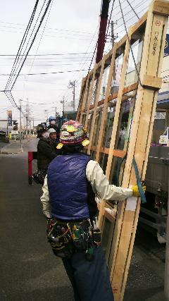 佐倉市 ビル ガラスの吸盤機施工工事