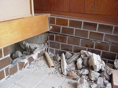 施工前:玄関内