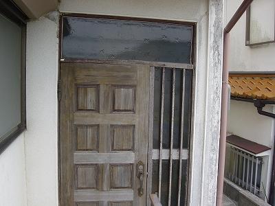 施工前:玄関ドア