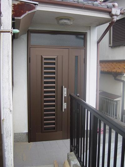 施工後:玄関ドア