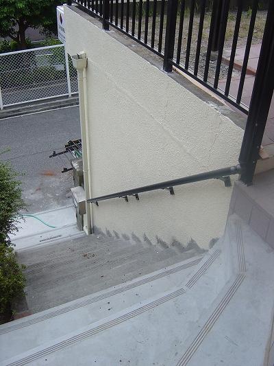 施工後:階段・手すり