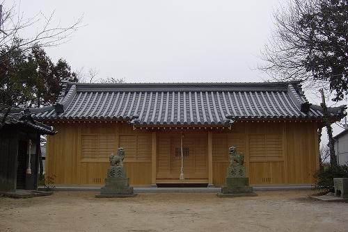 岩岡の自然に鎮座する大歳神社